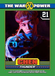 OMG HIS HAIR JNSKWKAL I LOVE U JONGDAE | #EXO #Power #JONGDAE #CHEN #TheWar: #ThePowerofMusic  2017.09.05 6PM (KST)