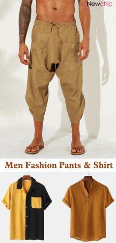 Fashion Pants, Men Fashion, Pant Shirt, Shirt Men, Casual Outfits, Men Casual, Stylish Blouse Design, Isamu Noguchi, Themed Outfits
