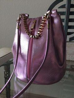 #Metallic #Violet #Levander #Pink #GoldChain #Crossbody #Bag #Handbag  #Other #MessengerCrossBody