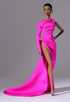 All things related to fashion dolls and their world. Fashion Royalty Dolls, Fashion Dolls, Fashion Dresses, Barbie Dress, Barbie Clothes, Pink Dress, Barbie Outfits, Barbie Mode, Diva Dolls