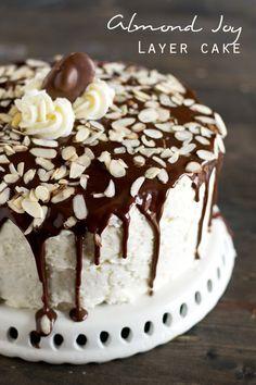 ALMOND JOY LAYER CAKE on MyRecipeMagic.com