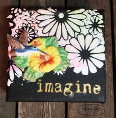 Makin's Clay® Blog: Hummingbird Canvas by Steph Ackerman