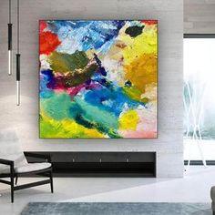 Large Abstract Wall Art, Large Canvas Wall Art, Extra Large Wall Art, Large Painting, Bedroom Paintings, Oversized Wall Art, Artist Work, Texture Art, Modern Wall