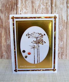 Ann Greenspan's Crafts: Shimmery Queen Anne's Lace