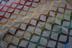 Sessoms by Carolyn Friendlander, using Fusions Collection, quilted by the wonderful @Angela Gray Gray Gray Walters