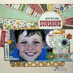 My Sunshine - Scrapbook.com