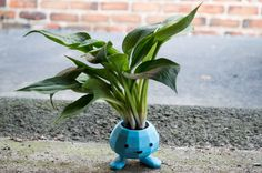 Oddish Planter 3D Printed Pokemon Planter by CarryTheWhat on Etsy