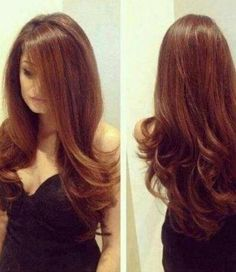 I want this hair style. My hair is only a few inches away from being this long! :D