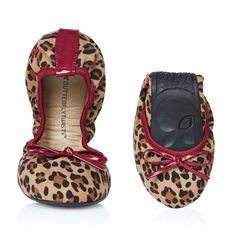 Butterfly Twists Cleo - Berry/Tan Leopard £25.00 - Butterfly Twists Fab Flip Flops