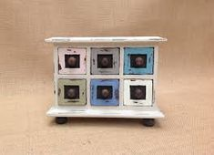 Image result for shabby furniture blue and white