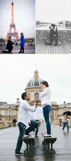 25 Seriously Romantic Proposal Locations and Ideas! Paris Destination Proposal