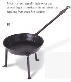 It's called a spider skillet and I want one for campfire cooking!