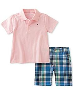 Polo Assn Toddler//Little Boys S//S Polo 2pc Short Set Size 2T 3T 4T 4 5 6 7 U.S