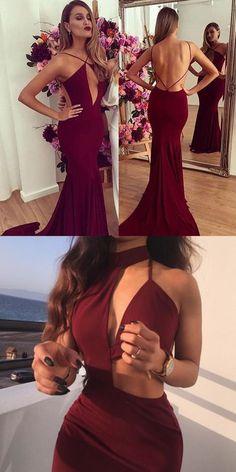 prom dress 2017,2017 prom dress,prom dress,prom dresses,prom gown,sexy prom dress,long prom dress,sexy long prom dress,burgundy prom dress,mermaid prom dress,long mermaid prom dress,spaghetti straps prom dress,sleeveless prom dress,backless prom dress,sexy long prom dress,