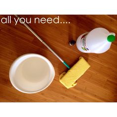 For some reason I always get into super cleaning mode on Saturdays. So, today I thought I would share my bamboo floor cleaning solution. It's so easy and smells great too. It makes cleaning a littl...