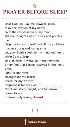 This is so perfect. i will start praying this every night as i fall asleep!