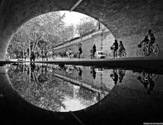 Beautiful, Amazingly Symmetrical Photographs Of Paris Reflected In Water - I love symmetry.