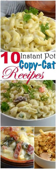 Share with friends 31 1 32Shares10 Instant Pot Copy Cat Recipes Now that my kids are grown and out of the house, my husband and I love to go out to eat. I love to come home and try to make the same dish at home for half the cost right in my Instant Pot. I have 10 …