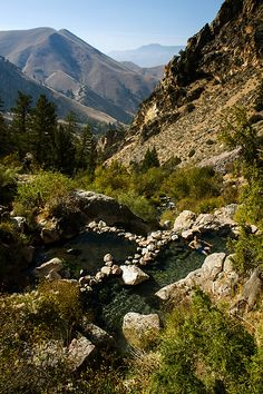 Goldbug Hot Springs in Idaho