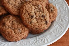 Sounds like something mom might make :P whole wheat chocolate chip oatmeal cookies healthy