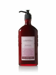 BLACK CURRANT VANILLA Bath Body Works Aromatherapy BODY LOTION lot of 1 new by Bath & Body Works. $16.49. Bath & Body Works Aromatherapy Sensuality  BLACK CURRANT VANILLA Lot of 1 (ONE) bottle of BODY LOTION @ 6.5 fl. oz  (new/unused/smoke free home) (just as pictured)