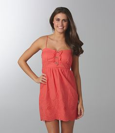 Jodi Kristopher Spaghetti-Strap Dress