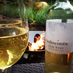This glass of English wine from Sedlescombe Organic Vineyard (East Sussex) looks very appealing, especially on a sunny afternoon...