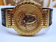 Gianni Versace Signature Gold Plaque Medusa Mens Watch - Original Gianni Versace 1993 design, bought in 1999