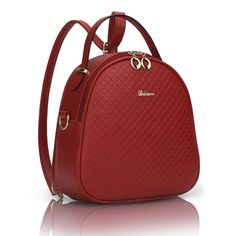 NEW Large-Capacity High-Quality Women's PU Leather Fashion Backpack 7 Colors
