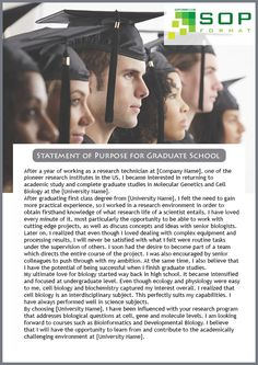 How would you format a Graduate school autobiographical statement that has specific questions to answer ?