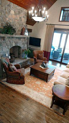 Interior Design • Lake Keowee, SC • The Cliffs at Keowee Falls • Interior Cues, LLC