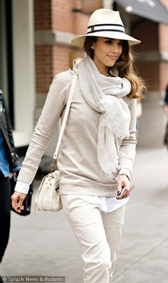 Shades of Beige  http://skyliving.sky.com/news-gossip/celebs-off-duty-candid-photos-out-and-about-6