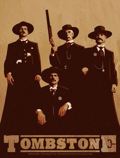 Tombstone - One my top 5 movies of all time. Great performances and so many great lines! Tombstone Movie Quotes, Tombstone 1993, Tombstone Arizona, See Movie, Movie Tv, Doc Holliday, Western Art, Western Quotes, The Lone Ranger