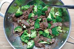Gourmet Girl Cooks: Szechuan Beef w/ Broccoli - Easy Low Carb