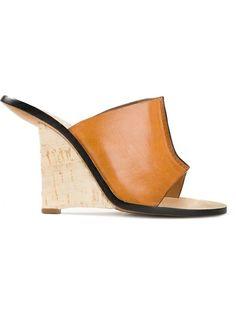 CHLOÉ - wedge mule