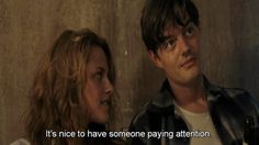 The Best Movie Lines. The Best Lines From The Movies We Love. Best Movie Lines, Elizabeth Moss, Sam Riley, The Dark Knight Rises, Kirsten Dunst, Kristen Stewart, Movie Quotes, Good Movies, Amy Adams
