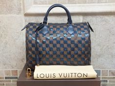 Louis Vuitton Paillettes Pailettes Sequins Bag - Satchel in Blue