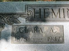 Clarissa A Coe Hemingway (1875 - 1947) - Find A Grave Photos     Clarissa A Coe Hemingway Memorial Photos Flowers Edit Share Learn about sponsoring this memorial... Birth: Nov. 13, 1875 Camden Oneida County New York, USA Death: Nov. 4, 1947 Otter Lake Lapeer County Michigan, USA  Her middle name is possibly Amanda.   Thanks to contributor CHARLES COE for added info.    Family links:   Parents:   Franklin D Coe (1848 - 1929)   Hattie E Drought Coe (1856 - 1929)    Spouse:   William…