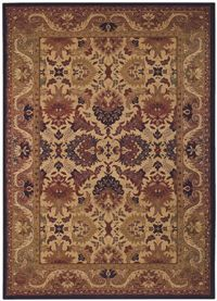 Couristan Anatolia Royal Plume and Navy-Port Wine 27150705 area #rugs - This can be purchased at BoldRugs.com