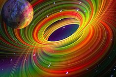 A világegyetem egy hologram lenne? A legújabb kutatások szerint, igen! Holographic Universe, Hologram, Fractal Art, Fractals, How The Universe Works, Psychedelic Art, Mandala Art, Rainbow Colors, Astronomy
