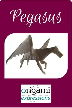 A review of Kamiya's excellent origami Pegasus model. One of the best Pegasus designs out there. Includes thoughts on folding, and where to get instructions | Origami Pegasus tutorial | origami pegasus instructions via @origami_express