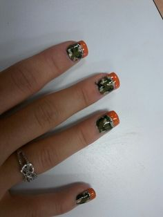 Camo nails (: Camo Nail Art, Camouflage Nails, Camo Nails, Fun Nails, Gorgeous Nails, Pretty Nails, Matte Nails, Acrylic Nails, Cowgirl Jewelry
