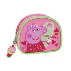 Peppa Pig 'Picnic Cup Cakes' Purse by linenideas. $11.03. Product Measurements:- 9.5 x 8 x 2 cm 3.7 x 3.1 x 0.8 Inch Official Licensed Product