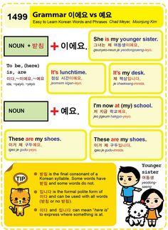 Easy to Learn Korean Language 1491 ~ 1500 Korean Words Learning, Korean Language Learning, Learn Korean Alphabet, Learn Hangul, Korean Writing, Korean Phrases, Korean Lessons, How To Speak Korean, Vocabulary Words