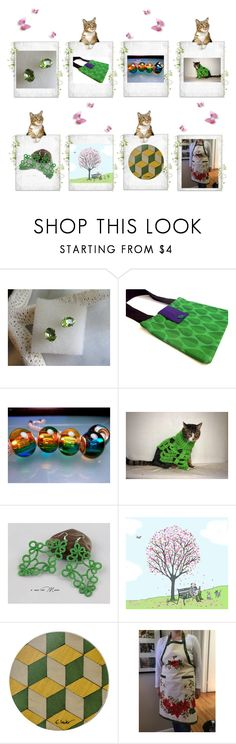 """""""Glorious Green"""" by cozeequilts ❤ liked on Polyvore featuring Dessous"""