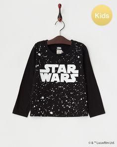 MAISON DE REEFUR ブラック STAR WARS ロングスリーブTシャツ|KIDS