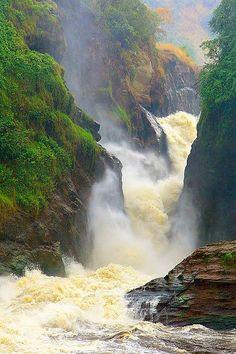 Murchkin #Falls, #Uganda www.africanpearlsafaris.com