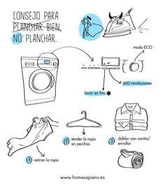 Consejos para NO planchar