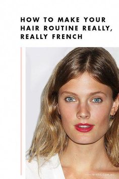 How to Make Your Haircare Routine Really, Really French #KoreanBeautyTips Beauty Routine Checklist, Beauty Routines, Routine Planner, Vaseline Beauty Tips, French Skincare, French Hair, French Makeup, Hair Care Routine, Skincare Routine