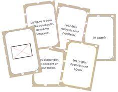 Nouveau petit jeu pour apprendre/mémoriser les caractéristiques des parallélogrammes (parallélogramme, rectangle, carré et losange). Ce jeu se joue deplusieurs façons : seul ou à 2 : L'élève…
